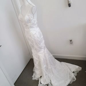 New Custom Wedding Dress